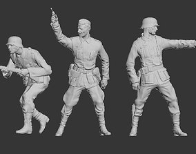 3D printable model German officer and German