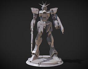 3D print model Impulse Gundam