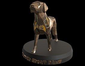 Steampunk Boxer Great Dane 3D asset
