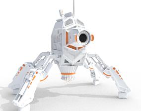 3D futuristic Robot Model