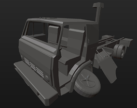 Kamaz technology 3D printable model
