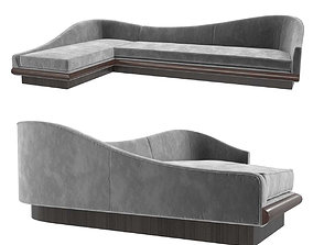 3D model Restoration Hardware PEARSALL LEFT-ARM SOFA 1