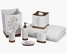 3D Dean Nature Inspired Bath Accessories by Veratex