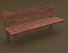 Bench 38 3D model