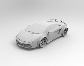 Lamborghini 3D print model