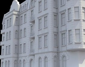 3D model Highly detailed historical tenement house
