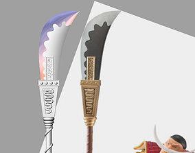 Bisento Spear of white beard One Piece 3D printable model