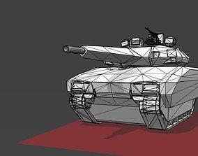 PL 01 Tank 3D printable model vehicles