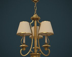 3D model Classic Chandelier 03 - Game Ready