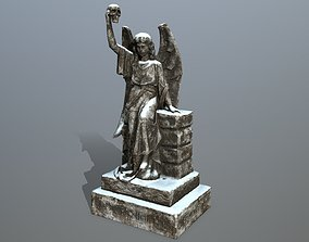 statue 2 3D model game-ready
