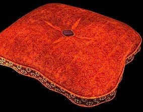 Cushion 3D model comfort
