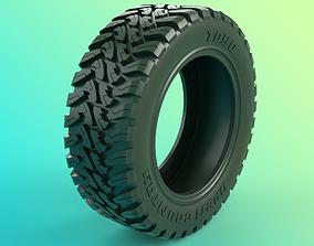 All Terrain Tire 3D