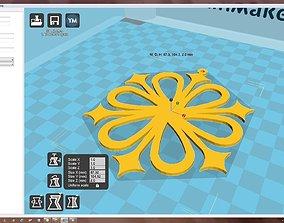 3D print model Snowflake ornament