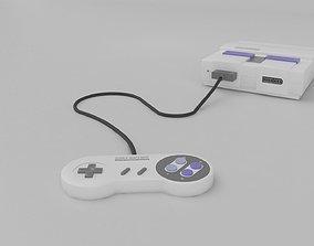 3D model Super Nintendo
