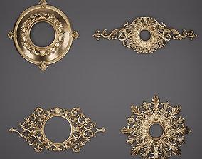 3D Trim Ornament 46