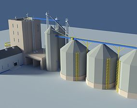 3D asset Low Poly Cartoony Feed Plant