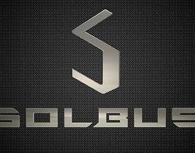 3D solbus logo