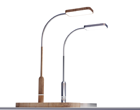 desk lamp 3D asset realtime