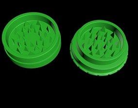 Herb grinder 3D printable model weed