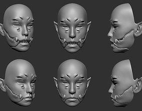 3D printable model Baraka mask