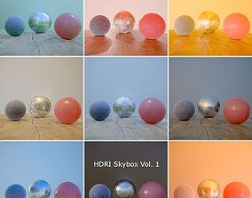 HDRi Vol 1 Skybox Collection 3D asset