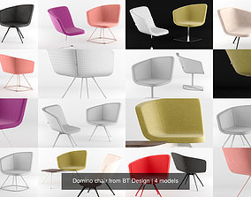 3D model Domino chair from BT Design