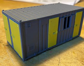 Model Railway Portable Office Accommodation Building