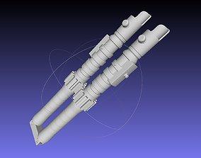 3D print model Star Wars Evil Rey Folding Lightsaber