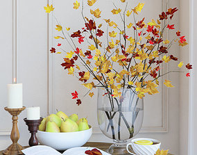 Autumn bouquet 3D model