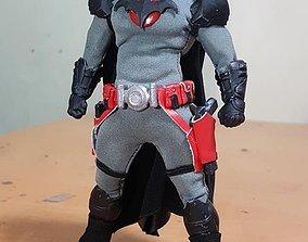 3D print model Flashpoint Batman Shoulder pads and Belt