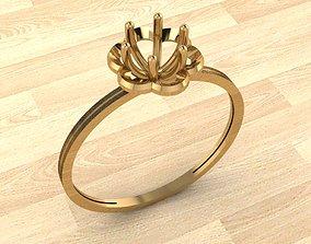 Ring 3 white 3D print model