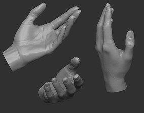 female hand HP 3D