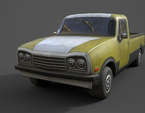 3D asset Generic PickUp Yellow