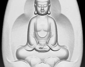 bouddha wood cnc 3D print model