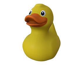 turbo yellow rubber duck print 3D printable model
