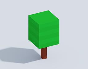 3D model Voxel Little Tree T2