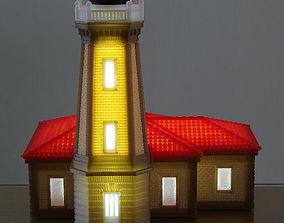 Spain Aviles Lighthouse - 3D Printed Table Lamp