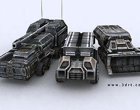 3D asset Sci-Fi Forces megapack