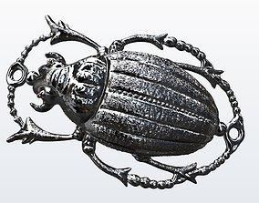 scarabey egyptian scarab 3D print model