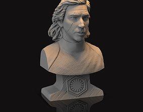 3D print model figure Kylo Ren