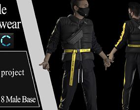 Male Streetwear 4 Marvelouse Designer project 3D
