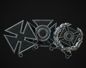 3D asset Marksmanship Badges