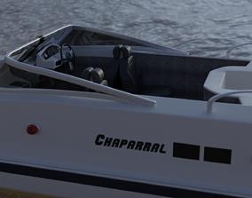 speed boat 3D model design