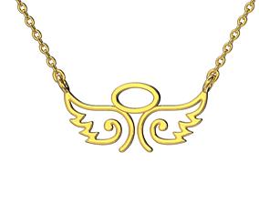 3D print model Angel wings necklace