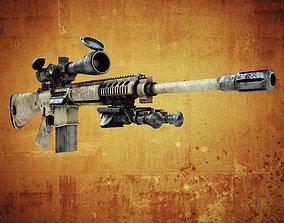 M110 SASS 3D asset