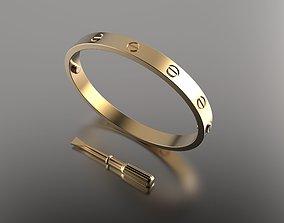 Bracelet Gold 22 3D print model