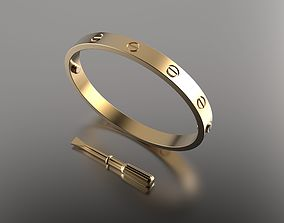 Bracelet Gold 22 3D printable model