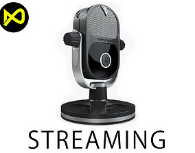 LiveStreaming MIC Realistic 3D model
