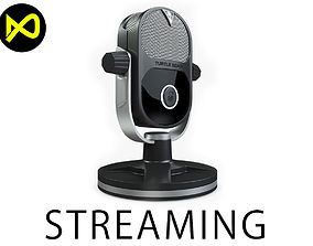 LiveStreaming MIC Realistic 3D model