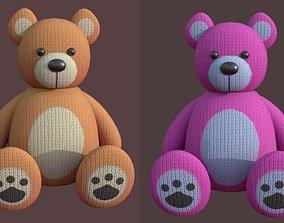 3D asset Bear Soft Toy